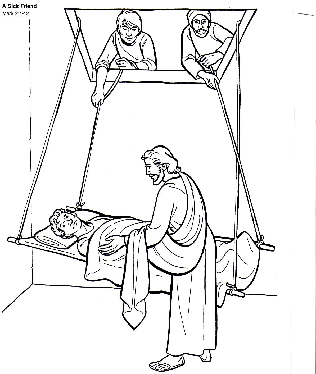 The Great Doctor - Coloring Page